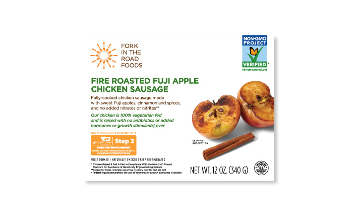 Fire Roasted Fuji Apple Chicken Sausage