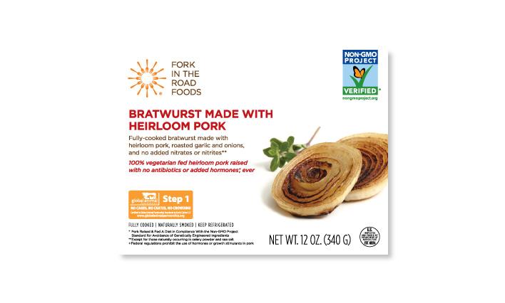 Bratwurst Made with Heirloom Pork