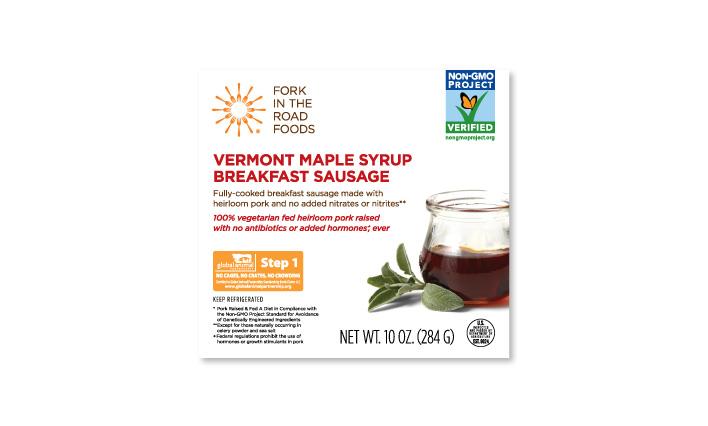 Vermont Maple Syrup Breakfast Sausage