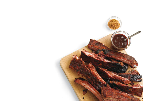 Smoked Heirloom Pork Ribs